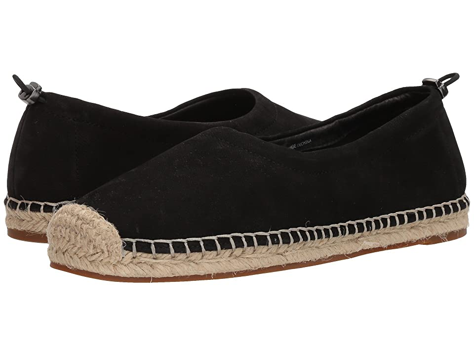 Eileen Fisher Bali Espadrille (Black Tumbled Nubuck) Women