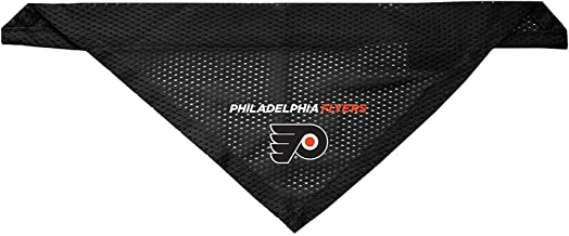 Littlearth Philadelphia Flyers Dog Cat Mesh Jersey Bandana L/XL