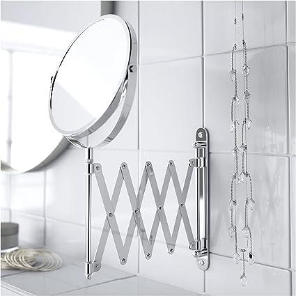 Ikea Frack Specchio In Acciaio Inox Amazon It Casa E Cucina