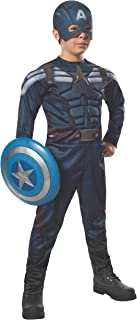 Rubies Captain America: The Winter Soldier Deluxe Stealth Suit Costume, Child Medium