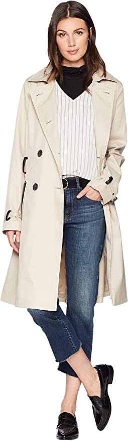 Double Breasted Trench Coat w/ Belt