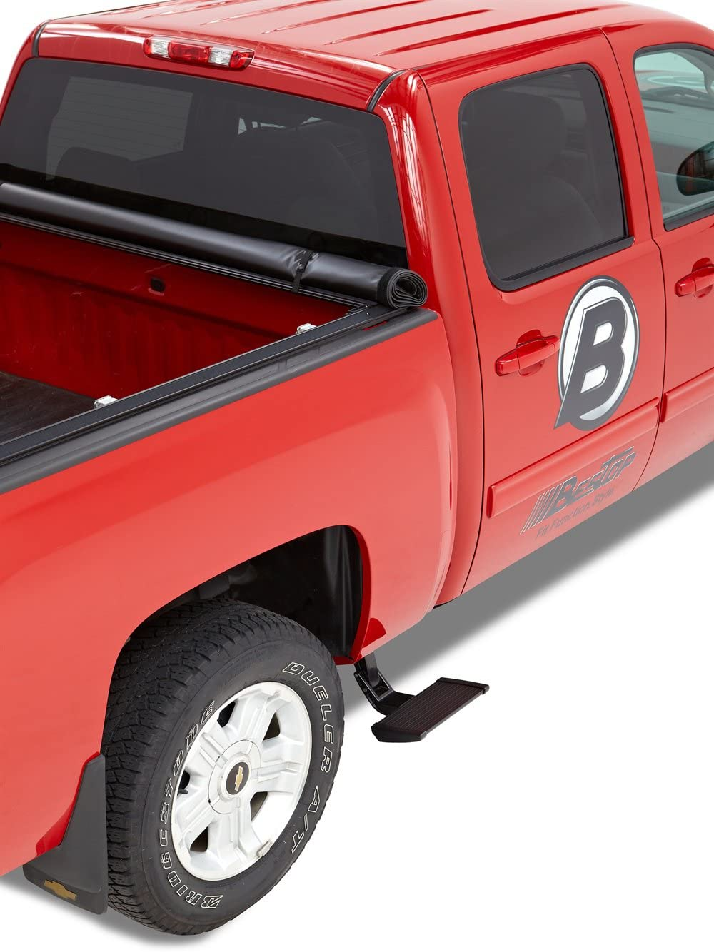 Bestop 75402-15 Side-Mounted Trekstep for 2009-2014 Ford F-150; fits Either Driver or Passenger Side; Regular//Supercab; 6.5 and 8.0 beds