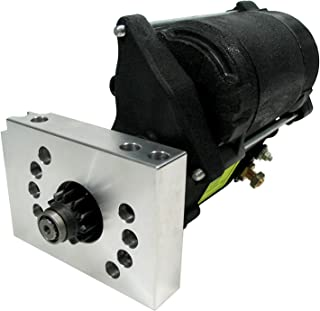NEW POWERMASTER MASTERTORQUE STARTER,DENSO,FITS SBC,BBC,CHEVY,153,168 TOOTH,180LBS