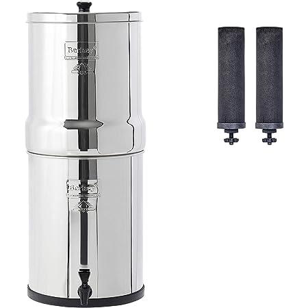 Royal Berkey Gravity-Fed Water Filter with 2 Black Berkey Purification Elements