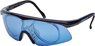 独特运动蓝色 Tourna Specs 蓝色防*镜,带*适配器