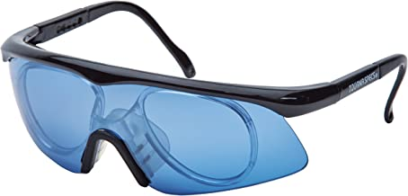 Unique Sports Blue Tourna Specs Blue Protective Eyewear with Prescription Adapter