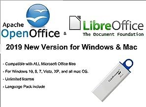 ✅ Apache Open Office & Libre Office 2019 pour Microsoft Windows et Mac OS X