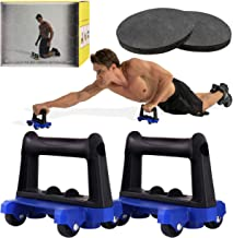 COREZONE Ab Roller for Abs Workout Fitness, Ab Roller Wheel with Knee pad Set, Wheel Exercise Equipment with Knee Mat for ...