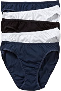 Hanes Women's Underwear Cotton Bikini Brief (5 Pack)