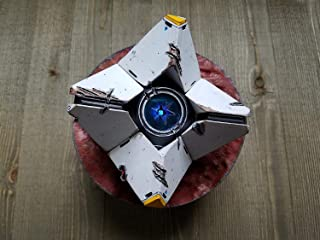 ONESHOT3D Destiny Dead Ghost with Wireless Bluetooth Speaker - Light Pulses to Sounds/Music - 3D Printed