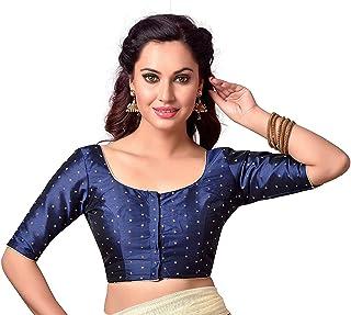 GREEN BLOUSE Free Shipping Embroidered Blouse Ready Made Bangalori Silk Blouse Crop Top Choli Tunic Saree Blouse Indian Wedding Wear Women