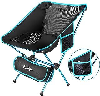 Silla de camping plegable ligera ideal para excursi/ón//senderismo//picnic//pesca//playa//jard/ín peso de carga: 158/kg port/átil Sportneer/®
