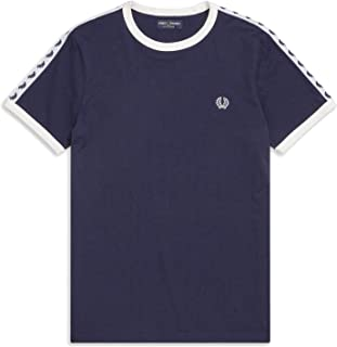 Fred Perry Mens TAPED RINGER T-SHIRT T-shirts