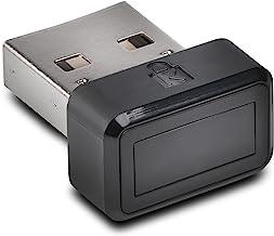 Kensington VeriMark USB Fingerprint Key Reader - Windows Hello, FIDO U2F, Anti-Spoofing (K67977WW),Black