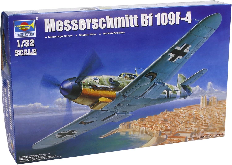Trumpeter 1 32 Messerschmitt Bf109F4 German Fighter Model Kit