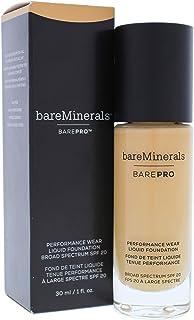 bareMinerals Barepro Performance Wear Liquid Foundation SPF 20 - 19 Toffee for Women - 1 oz Foundation, 30 ml