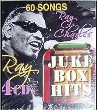 Ray Charles Juke Box Hits 60 Song 4 CD Set