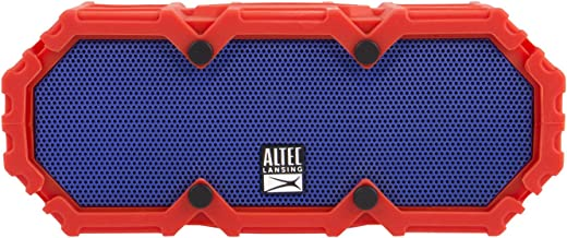Altec Lansing IMW578 LifeJacket 3 Waterproof Bluetooth Speaker with Voice Control, Red