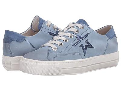 Paul Green Carlita Sneaker (Lago Denim Combo) Women
