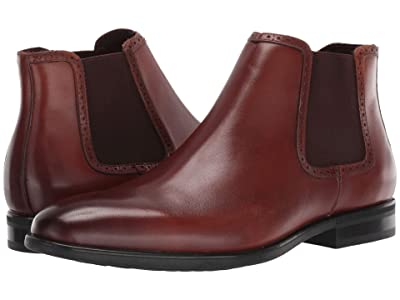 Kenneth Cole Reaction Edge Flex Chelsea (Cognac) Men