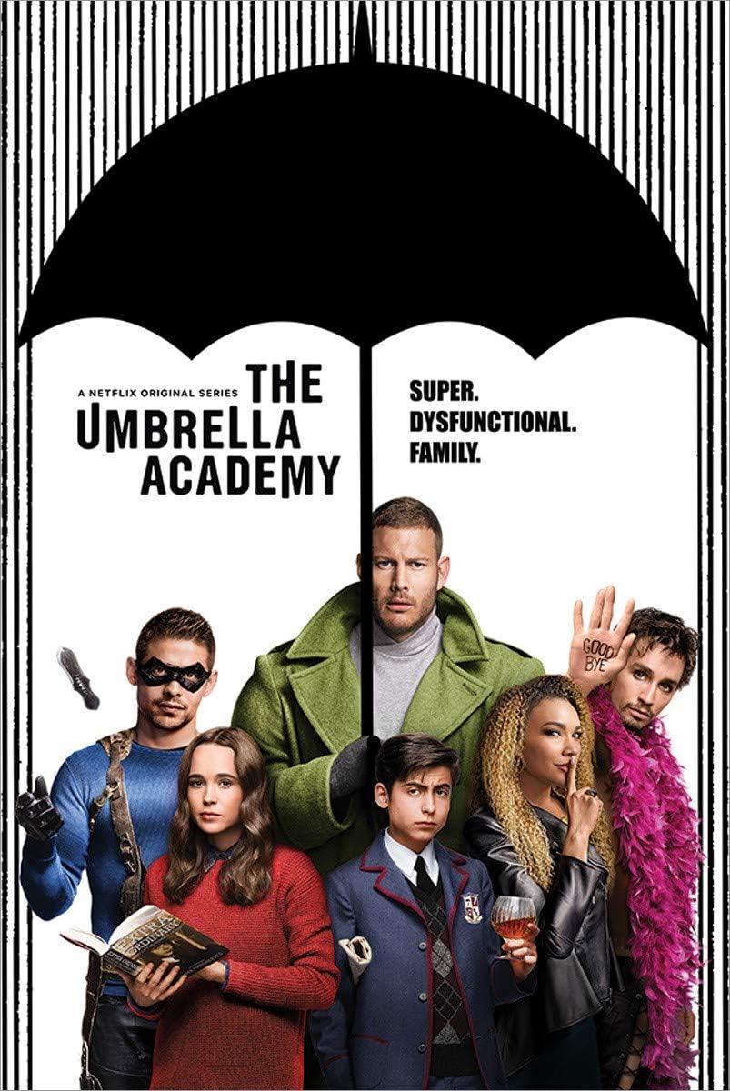 The Umbrella Academy Maxi Poster, Multicolore, 61 x 91,5 cm : Amazon.it:  Casa e cucina