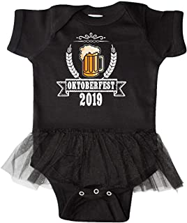 Oktoberfest 2019 with Beer Banner and Wheat Infant Tutu Bodysuit