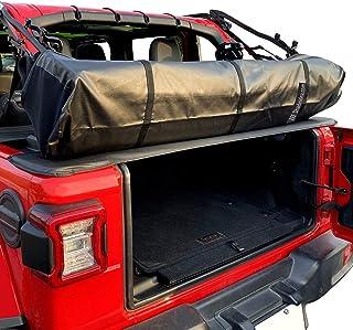 Shadeidea Soft Top Boot for Jeep Wrangler JL, 2018 - Current - Black Premium Storage Cover JLU 4 Door & 2 Door with Pouch...