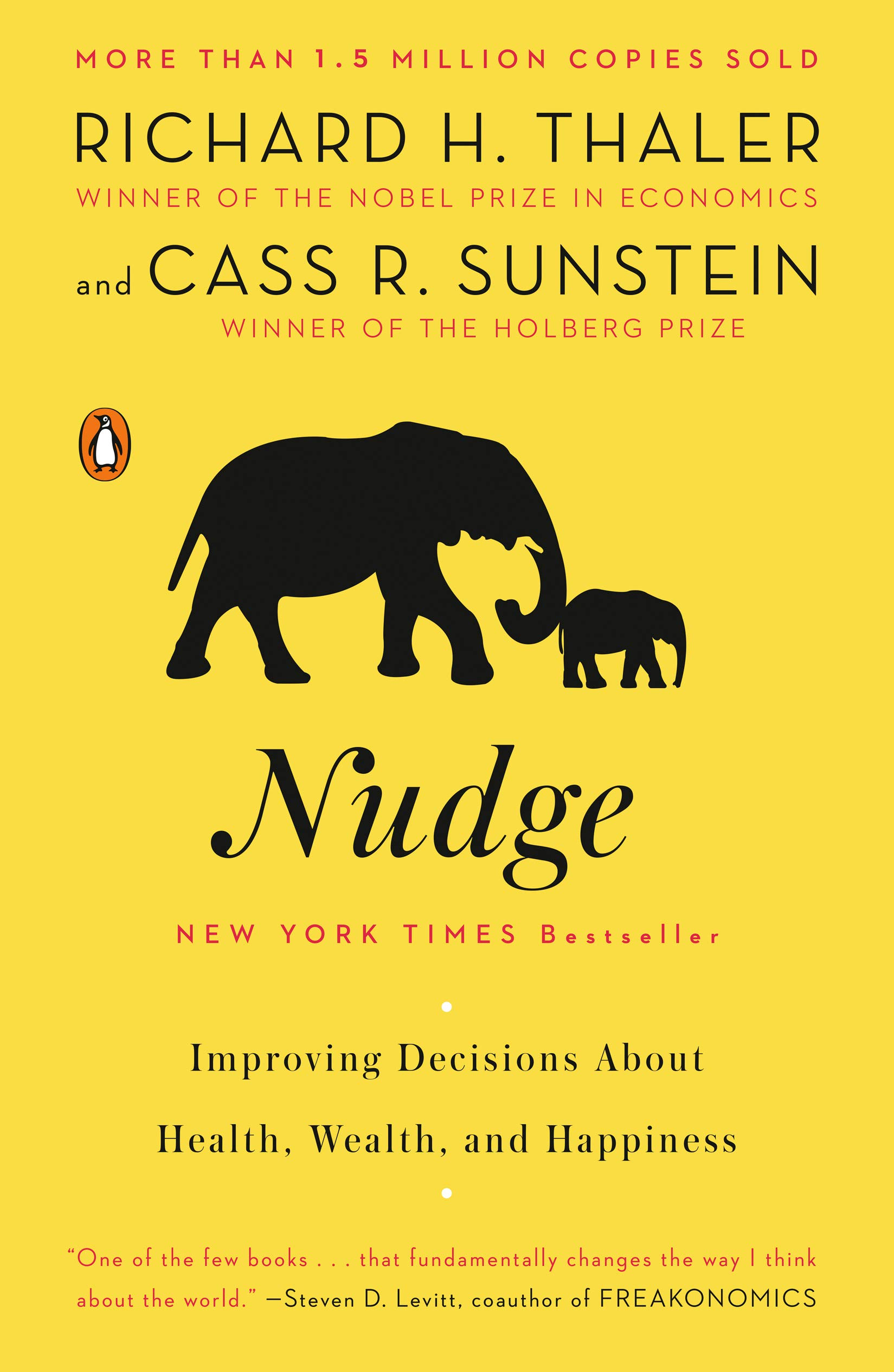 Image OfNudge: Improving Decisions About Health, Wealth, And Happiness.