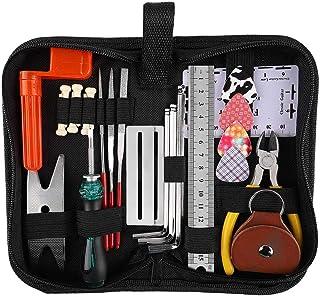 Morelian Guitar Repairing Tool Set Maintenance Cleaning Tool Kit String Organizer Ruler Gauge Measuring Tool