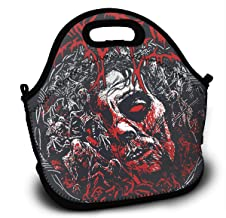 DJISAHTDF Leisure Dying Fetus - Induce Terror Portable Lunch Bag Carry Case Tote With Pocket For Who Need