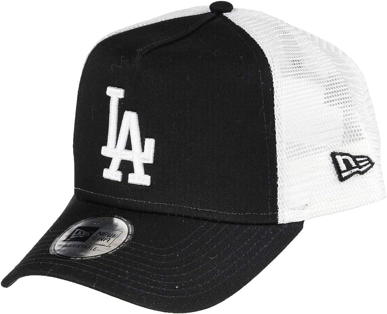 New Era Los Angeles Dodgers A Frame Adjustable Trucker Cap Clean
