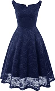 MILANO BRIDE Homecoming Dress for Juniors Floral Lace Short Cocktail Wedding Party Dresses
