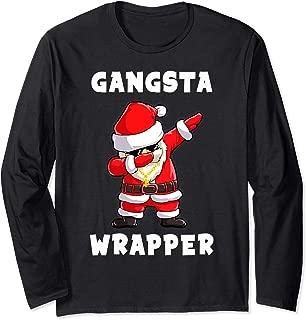 Gangsta Wrapper Santa Dabbing Family Group Christmas Shirt