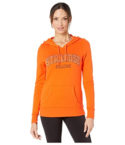 Champion College Syracuse Orange Eco(r) University Fleece Hoodie (Orange 1) Women