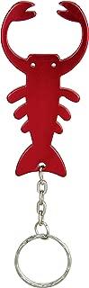 Swatom Lobster Keychain Bottle Opener Beer Opener Tool Key Tag Chain Ring Accessories