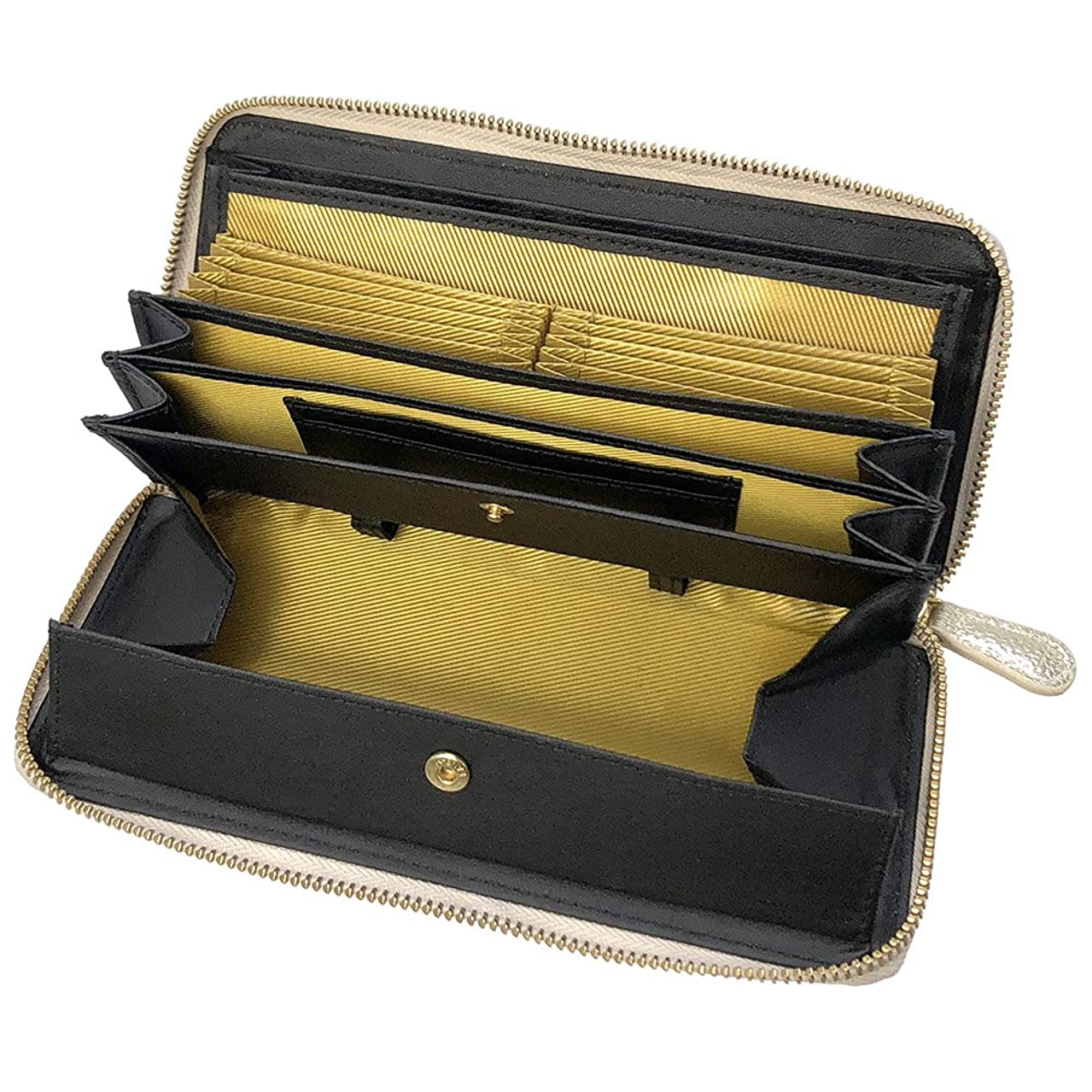 着実に考えたサイトライン牛革 レシート すっきり 長財布 【コインスルー&大容量カード収納で使いやすさ抜群】