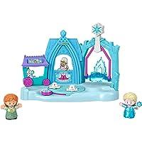 Fisher-Price Disney Frozen Arendelle Winter Wonderland Playset with Anna and Elsa Figures
