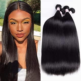 YUZHU Peruvian Straight Hair 4 Bundles 24