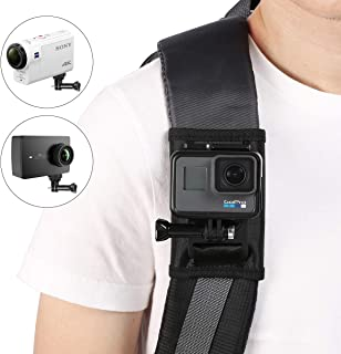 Taisioner Backpack Strap Knapsack Shoulder Mount for GoPro Hero 3/4 / 5/6 / 7/8 Black White Silver GoPro Max Other Action Camera