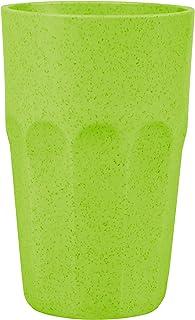 Mintra Unbreakable Plastic Cup, 450 ml - Apple Green