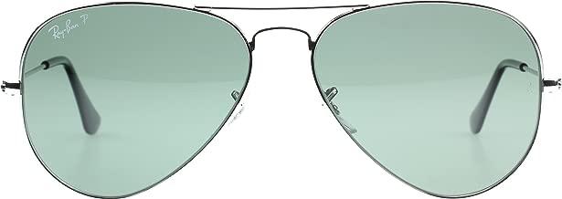 Ray-Ban Aviator - anteojos de sol grandes de metal con espejo