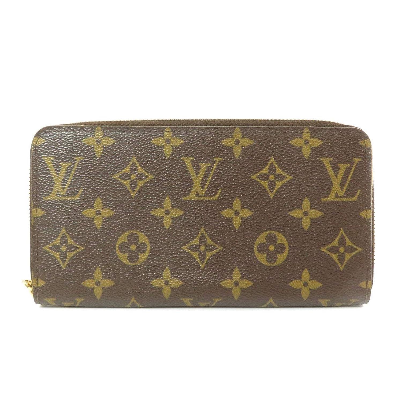 [ルイヴィトン]ジッピーウォレット 旧 M42616 長財布(小銭入れあり) モノグラムキャンバス レディース (中古)