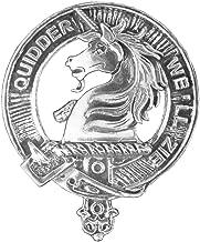 Stewart (Appin) Clan Crest Scottish Cap Badge