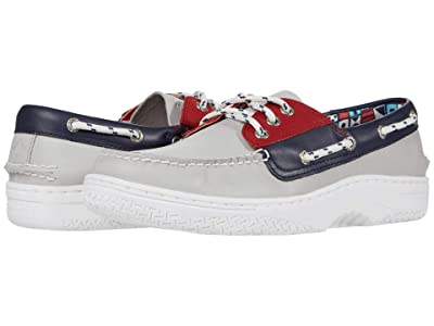 Sperry Billfish Plushwave Nautical (Red/White) Men