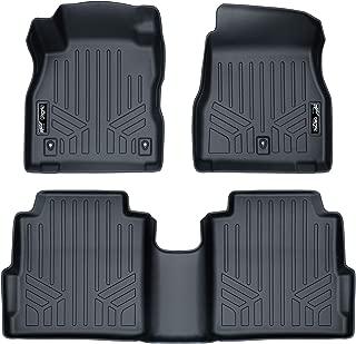 MAXLINER Custom Fit Floor Mats 2 Row Liner Set Black for 2018-2019 Nissan Kicks