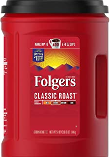 Folgers Coffee, Classic(Medium) Roast, 51 Ounce, Red