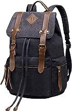 حقيبة ظهر من القماش العتيق من BeautyWill للجنسين للسفر في المدرسة والتنزه في الطبيعة.