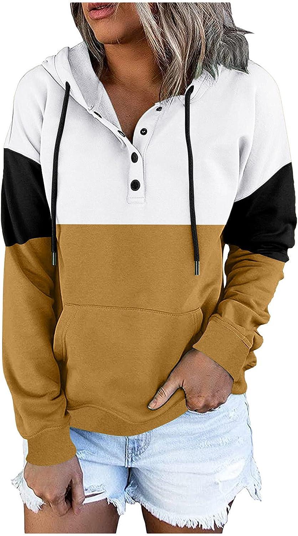 Hemlock Women Color Louisville-Jefferson County Mall latest Block Sweatshirts Hooded A Pullovers Sweater