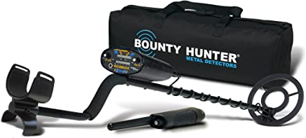 Bounty Hunter QD2GWP Quick Draw II Metal Detector with Pin Pointer and Carry Bag