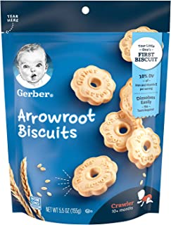 Gerber Graduates Arrowroot Cookies, 5.5 Ounce